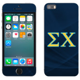 iPhone 5/5s Skin-Sigma Chi Greek Letters
