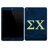 iPad Mini 3 Skin-Sigma Chi Greek Letters