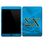 iPad Mini 3 Skin-Sigma Chi Greek Letters
