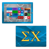 Surface Pro 3 Skin-Sigma Chi Greek Letters