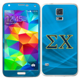 Galaxy S5 Skin-Sigma Chi Greek Letters
