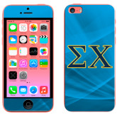 iPhone 5c Skin-Sigma Chi Greek Letters