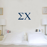 1 ft x 2 ft Fan WallSkinz-Sigma Chi Greek Letters