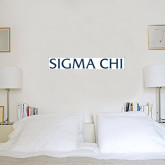 2.5 ft x 3 ft Fan WallSkinz-Sigma Chi
