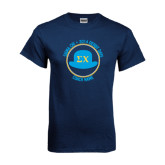Navy T Shirt-Derby Days Coach Circle, Personalized