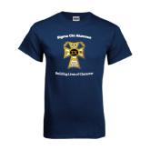 Navy T Shirt-Sigma Chi Alumnus