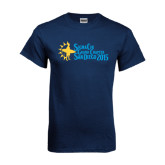 Navy T Shirt-Grand Chapter San Diego 2015