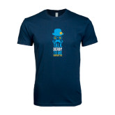 Next Level SoftStyle Navy T Shirt-Talk Derby To Me Tall Version, Personalized