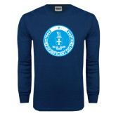 Navy Long Sleeve T Shirt-Significant Sig