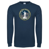 Navy Long Sleeve T Shirt-81st Grand Chapter