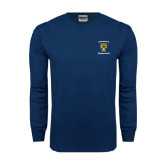 Navy Long Sleeve T Shirt-Sigma Chi Alumnus