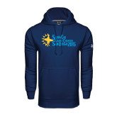 Under Armour Navy Performance Sweats Team Hood-Grand Chapter San Diego 2015