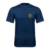 Syntrel Performance Navy Tee-Badge