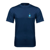 Syntrel Performance Navy Tee-Crest