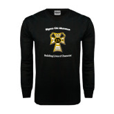 Black Long Sleeve TShirt-Sigma Chi Alumnus
