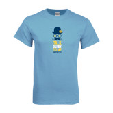 Light Blue T-Shirt-Talk Derby To Me Tall Version, Personalized