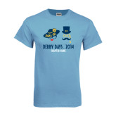 Light Blue T Shirt-Derby Days Man & Women w/Hats