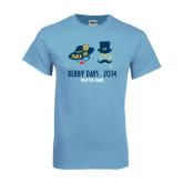 Light Blue T Shirt-Derby Days Man & Women w/Hats