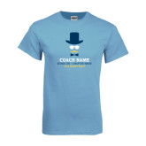Light Blue T-Shirt-Derby Days Coach with Male Head