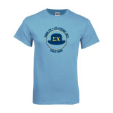 Light Blue T-Shirt-Derby Days Coach Circle
