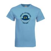 Light Blue T Shirt-Derby Days Coach Circle