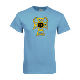 Light Blue T-Shirt-Badge