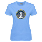 Ladies Sky Blue T-Shirt-81st Grand Chapter