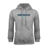 Grey Fleece Hood-IAMSIGMACHI
