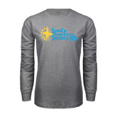 Grey Long Sleeve T Shirt-Grand Chapter San Diego 2015