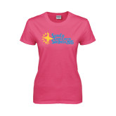 Ladies Fuchsia T Shirt-Grand Chapter San Diego 2015