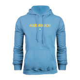 Light Blue Fleece Hood-IAMSIGMACHI