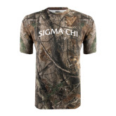 Realtree Camo T Shirt-Arched Sigma Chi