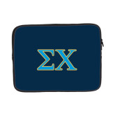 13 inch Neoprene Laptop Sleeve-Sigma Chi Greek Letters