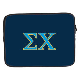 15 inch Neoprene Laptop Sleeve-Sigma Chi Greek Letters