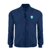 Navy Players Jacket-Shield