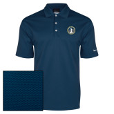Nike Dri Fit Navy Pebble Texture Sport Shirt-81st Grand Chapter