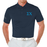 Callaway Opti Vent Navy Polo-Sigma Chi Greek Letters