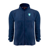 Fleece Full Zip Navy Jacket-Shield