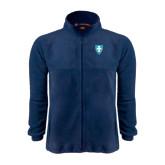Fleece Full Zip Navy Jacket-Shield