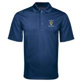 Navy Mini Stripe Polo-Sigma Chi Alumnus
