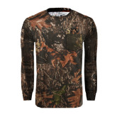 Realtree Camo Long Sleeve T Shirt w/Pocket-Sigma Chi Greek Letters