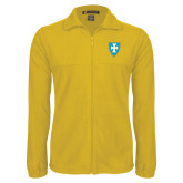 Fleece Full Zip Gold Jacket-Shield