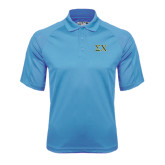 Carolina Blue Dri Mesh Pro Polo-Sigma Chi Greek Letters