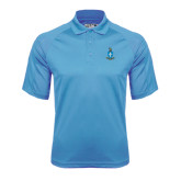 Carolina Blue Dri Mesh Pro Polo-Crest