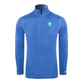 Nike Sphere Dry 1/4 Zip Light Blue Pullover-Shield