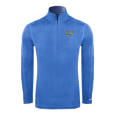 Nike Sphere Dry 1/4 Zip Light Blue Pullover-Sigma Chi Greek Letters