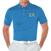 Callaway Opti Vent Royal Polo-Sigma Chi Greek Letters