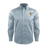 Red House Lt Blue Long Sleeve Shirt-Badge