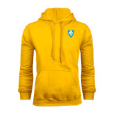 Gold Fleece Hood-Shield
