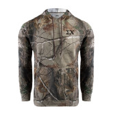 Realtree Camo Fleece Hood-Sigma Chi Greek Letters